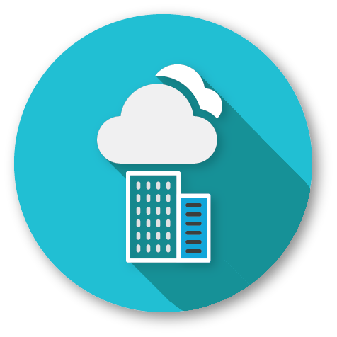 cloud or on premise icon