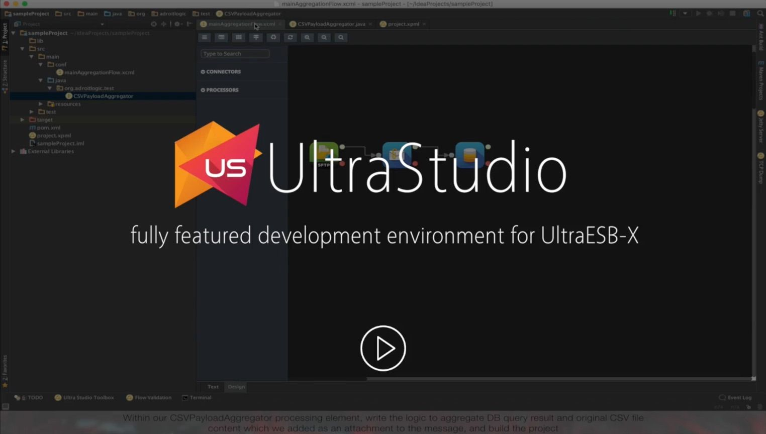 UltraStudio - Integration solution development made better | AdroitLogic